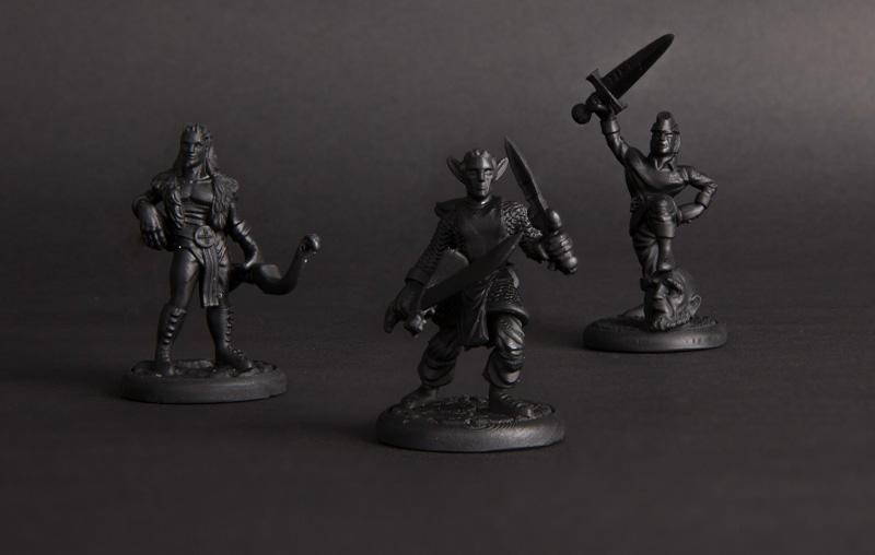 SLA 3D Printed Figurines
