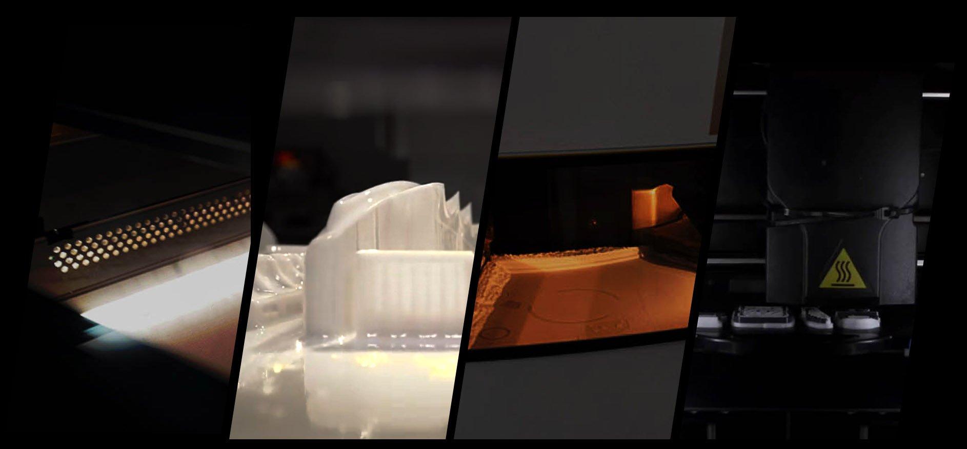 SLA 3D Printing Detailed Plastic
