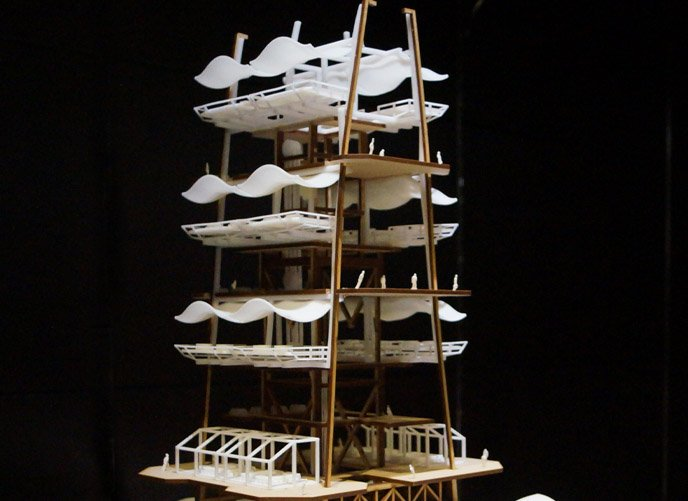 SLA Architecture 3D Printing