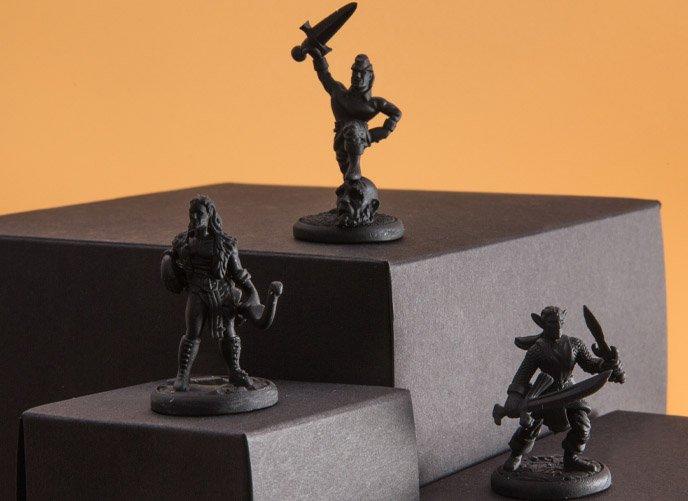 SLA Figurine 3D Printing Singapore